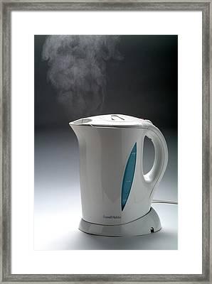 Boiling Kettle Framed Print