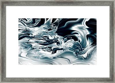 Boiling Molten Clarity Of Thought Framed Print by Kyle Wood