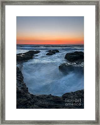 Boiling Point Framed Print