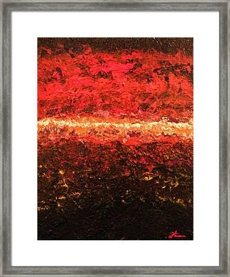 Boiling Point Framed Print