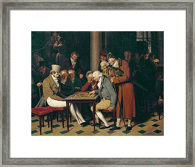 Boilly, Louis Leopold 1761-1845. Game Framed Print