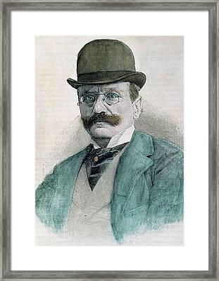 Boito, Arrigo (padua, 1842-milan, 1918 Framed Print by Prisma Archivo