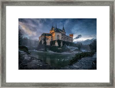 Bojnice Castle Framed Print