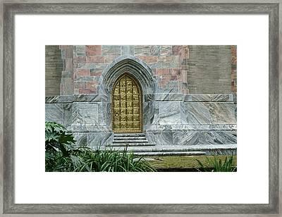 Bok Tower Entrance Framed Print