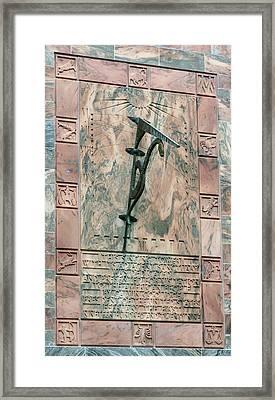 Bok Tower Sundial Framed Print
