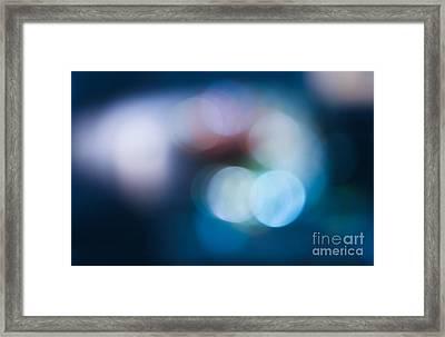 Bokeh Lights Framed Print by Sharon Mau