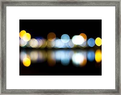 Bokeh Framed Print by Mark Pangilinan