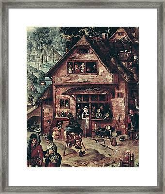 Bol, Hans 1534-1593 Bol, Hans Framed Print by Everett