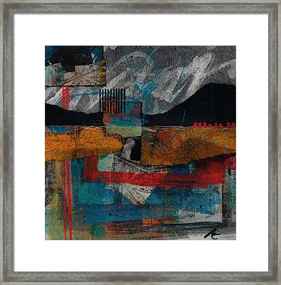 Bold Start Framed Print