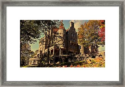 Boldt Castle 001 Framed Print by George Bostian