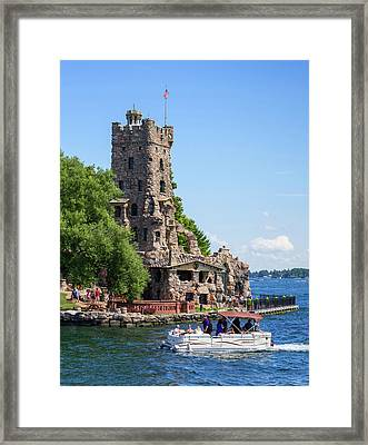 Boldt Castle In Thousand Islands, New Framed Print
