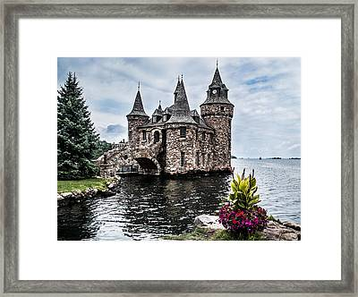 Boldt's Castle Tower Framed Print by Debbie Green