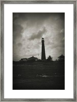 Bolivar Lighthouse Framed Print