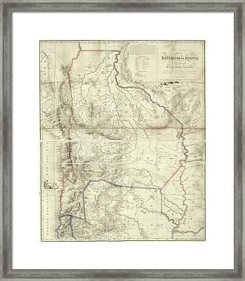 Bolivia Framed Print