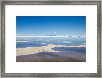 Bolivia Salt Flats Framed Print by For Ninety One Days