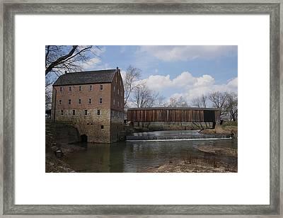 Bollinger Mill Framed Print