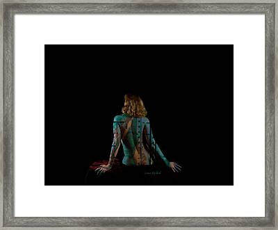 Bolted Down Framed Print by Donna Blackhall