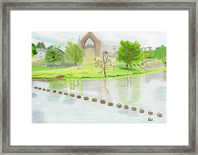 Bolton Abbey Framed Print by Bav Patel