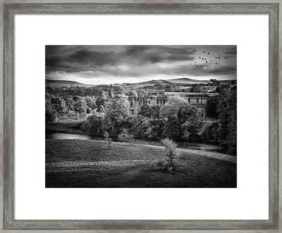 Bolton Abbey Framed Print by Ian Barber