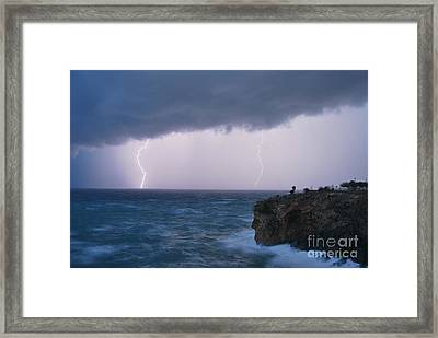 Bolts On The Water Framed Print