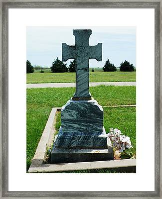 Bomarton Catholic Cemetery 10 Framed Print