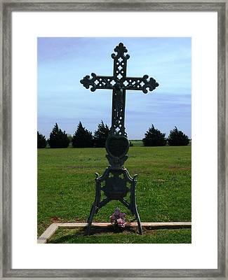 Bomarton Catholic Cemetery 8 Framed Print