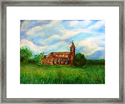Bomarton Church Framed Print