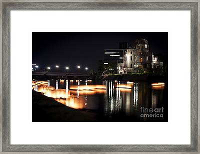 Bomb Dome And Lanterns Framed Print by Samantha Frey