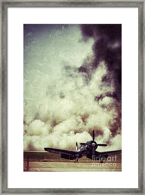 Bomb Run Framed Print