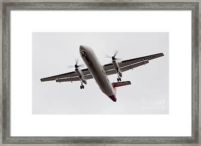 Bombardier Dhc 8 Framed Print