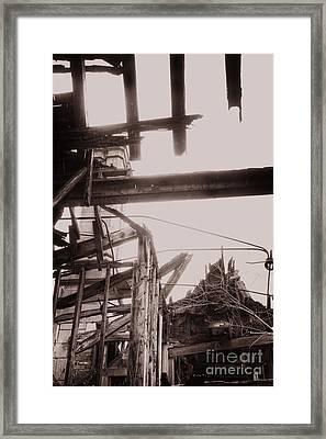 Bombed Framed Print by Margie Hurwich