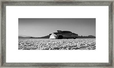 Bombshell Buick - Metal And Speed Framed Print