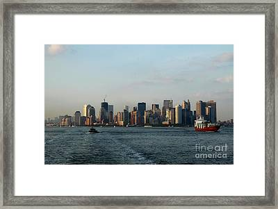 Bon Voyage Framed Print by Christiane Schulze Art And Photography