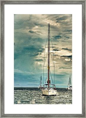 Bon Voyage Framed Print by Syed Aqueel