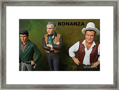 Bonanza Framed Print