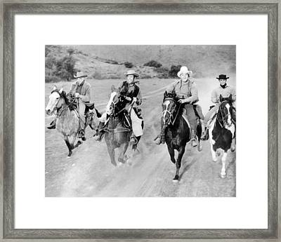 Bonanza  Framed Print by Silver Screen