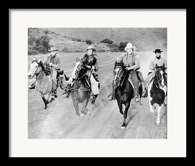 Lorne Greene Framed Prints