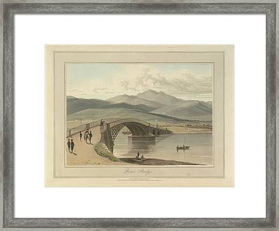 Bonar Bridge In The Kyles Of Sutherland Framed Print by British Library