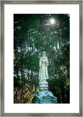 Bonaventure Angel Framed Print by Mark Andrew Thomas