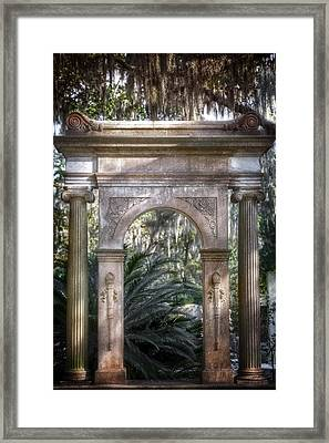 Bonaventure Cemetery Framed Print by Mark Andrew Thomas