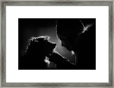 Bond Framed Print