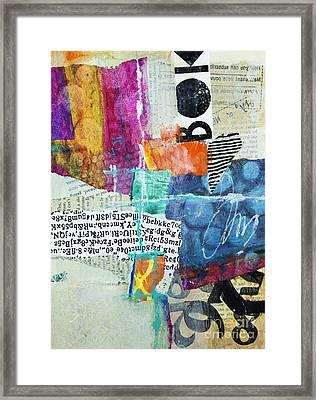 Bond Framed Print by Elena Nosyreva