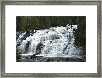 Bond Falls Watersmeet Framed Print