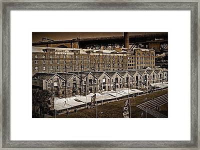 Bondage At Campbell's Cove Framed Print by Tony Crehan