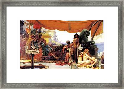 Bondage Framed Print by Pg Reproductions