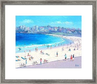 Bondi Summer Framed Print