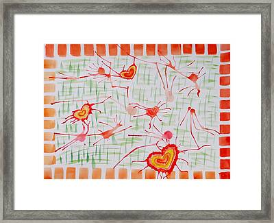 Bonds Of Love Framed Print