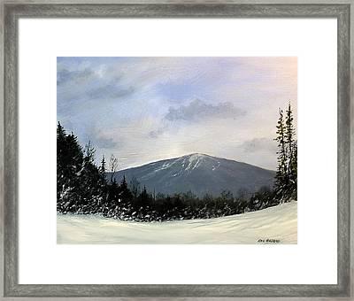 Bondville Vista Framed Print by Ken Ahlering