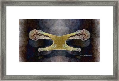 Bone Dance Framed Print by WB Johnston