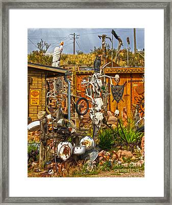 Bone Shack - 05 Framed Print by Gregory Dyer